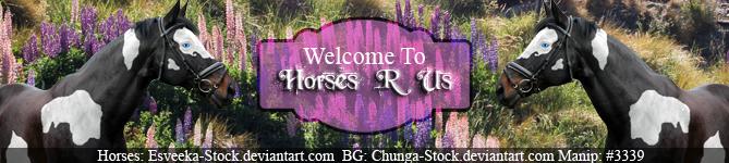 HEE Horses R Us - Banner ~2017~ by GabriellasFantasy
