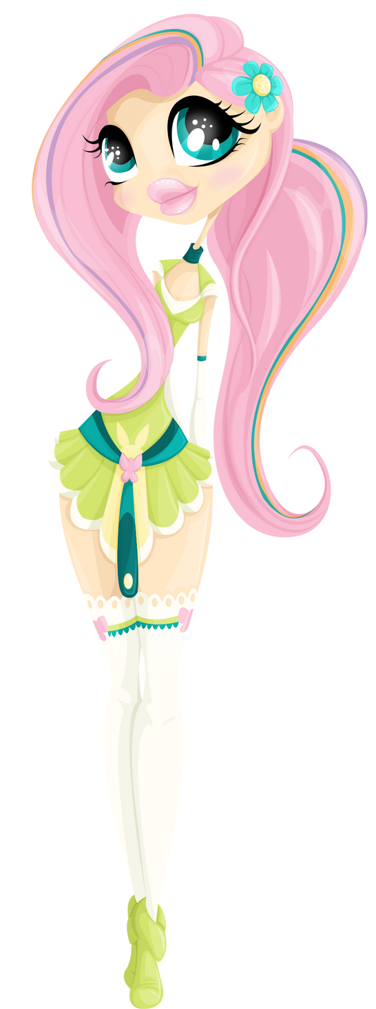 Sailor of kindness - Fluttershy by Helwenn