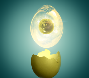 The egg by simpledrawdesigns