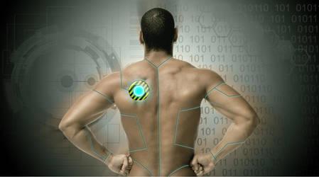 Tech man by simpledrawdesigns