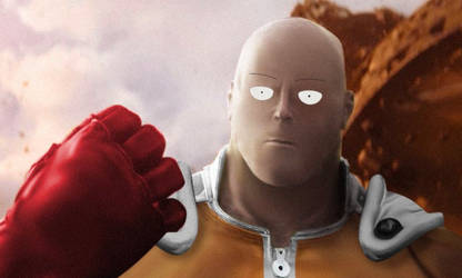 One Punch Thanos by ShadowFrost1