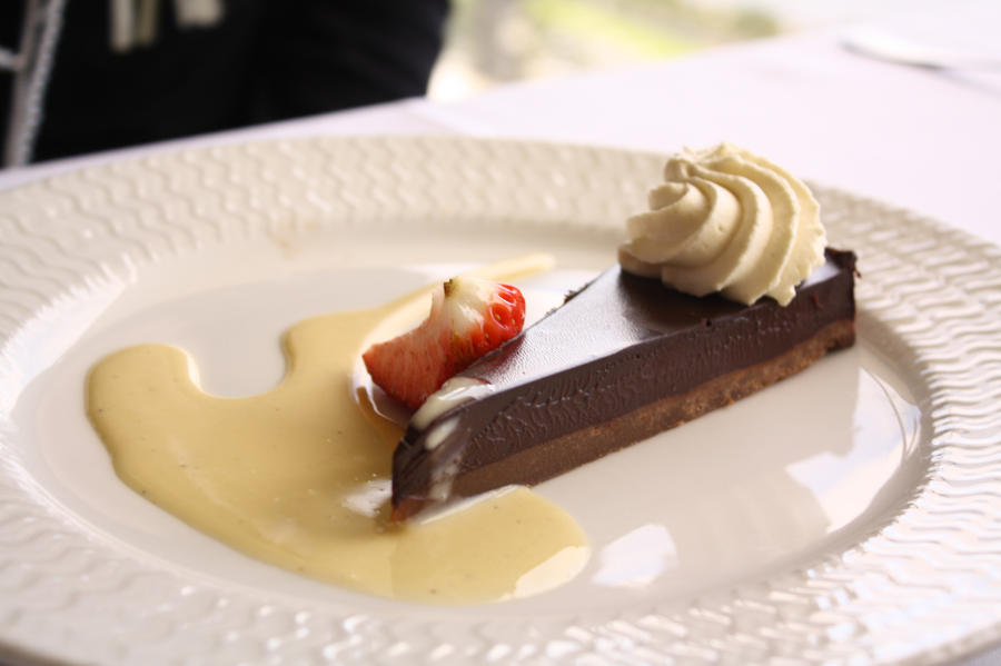 Double Chocolate Tart by helpmattgetphat on deviantART