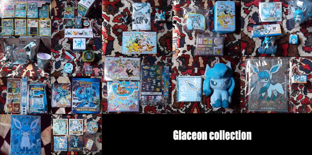 Glaceon Collection(updated) by xKirameku-Lunaix
