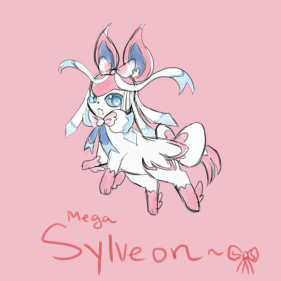 Mega Sylveon by Dream-Paint