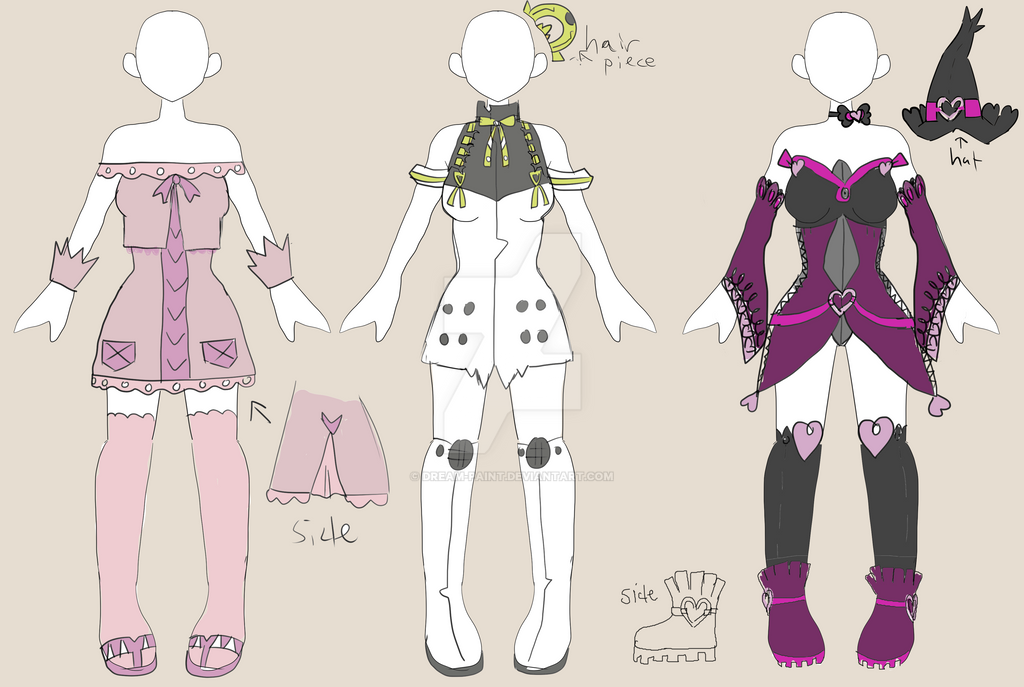 Adopt Clothing Set 1 (CLOSED) by Dream-Paint