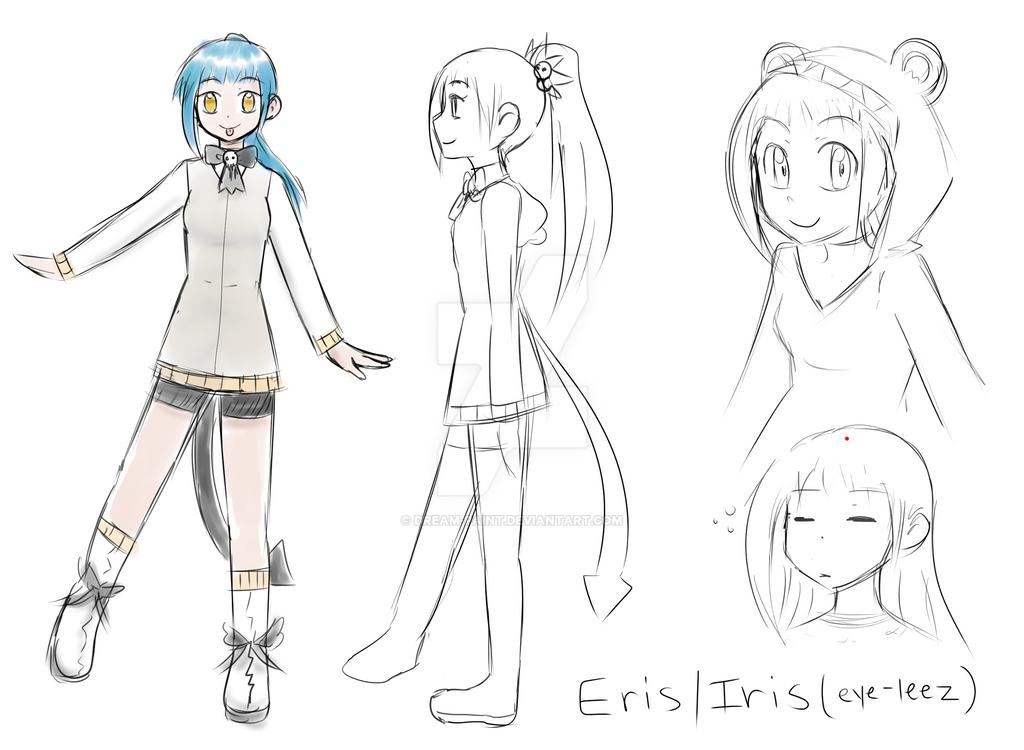 Elis Iris ref by Dream-Paint