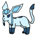 Glaceon Shimeji (Dl) by Dream-Paint