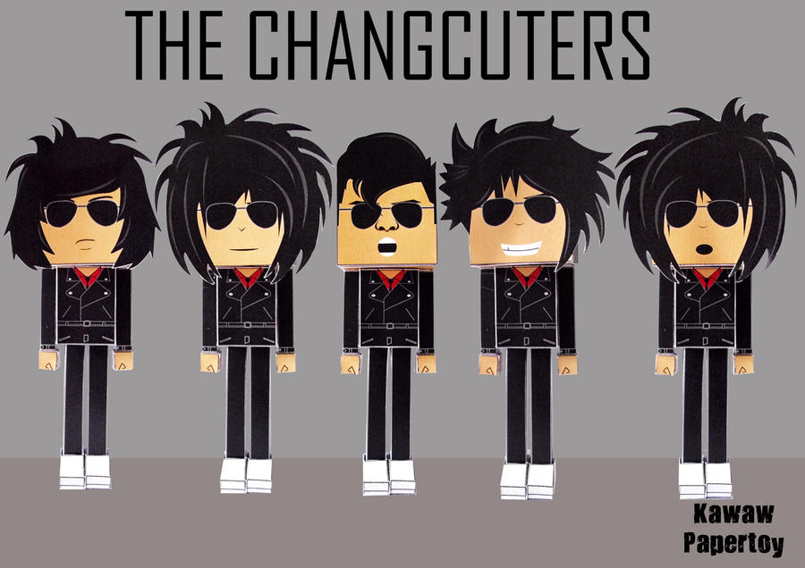 The Changcuters Papertoy By Ragakawaw On DeviantART