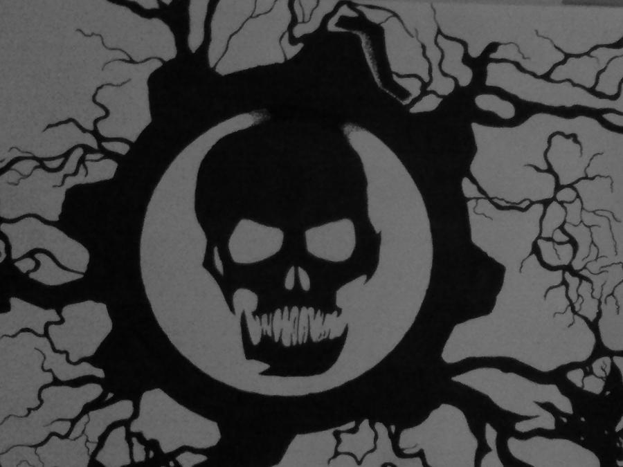 Gears Of War Logo By Birdofabirch On Deviantart