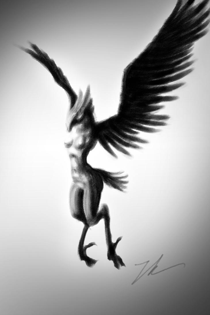 Harpy Temptress by BirdofaBirch