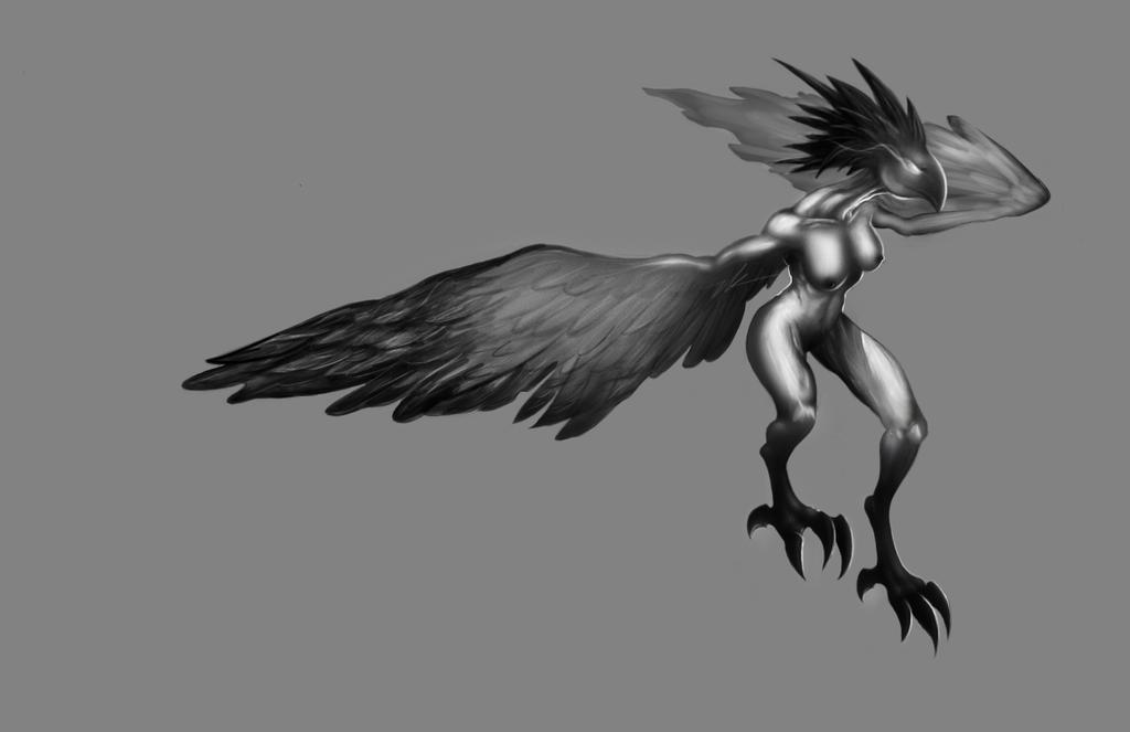 Harpy by BirdofaBirch