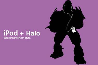 iPod + Halo, 2 by gigablade77