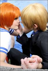 Sanji x Nami - Kiss me...!