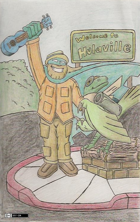 Action Steve and Action Raptor by Action-Steve