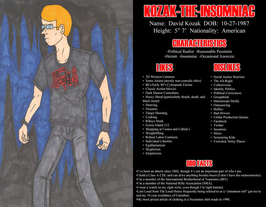 Meet the Artist Meme:  Kozak-the-Insomniac by Kozak-the-Insomniac