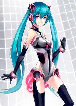 Hatsune Miku by titi-artwork