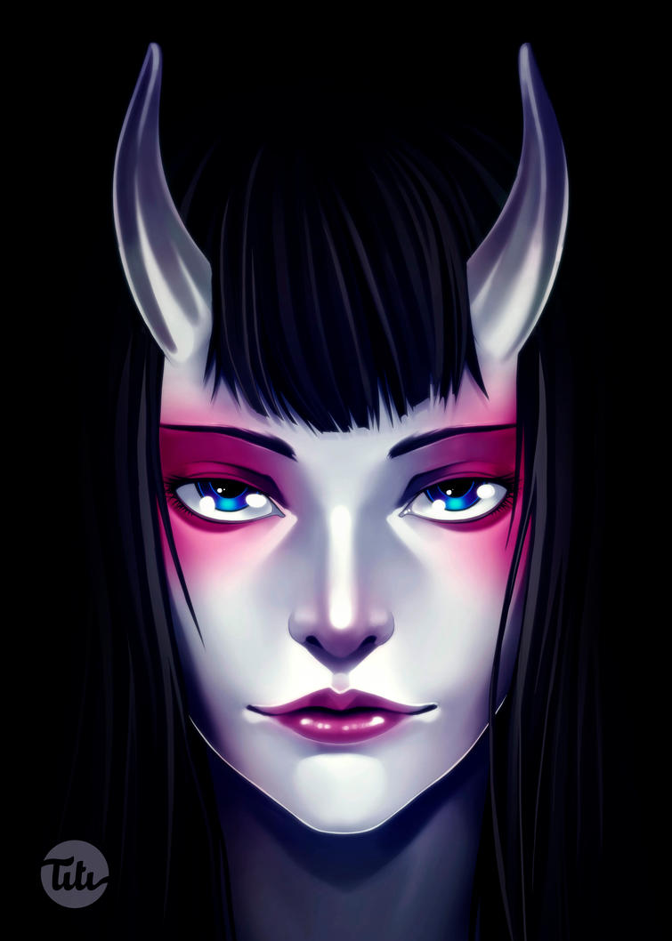 Demon eyes by titi-artwork