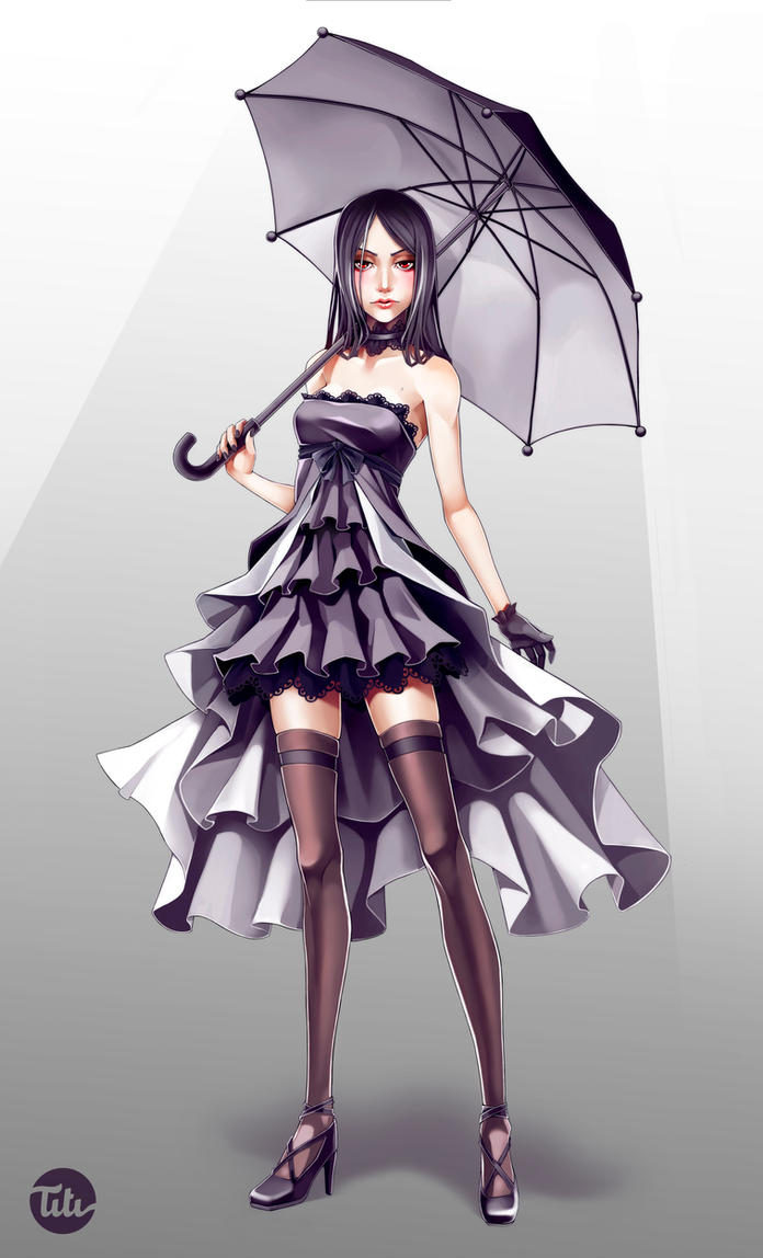 Dark Lolita by titi-artwork