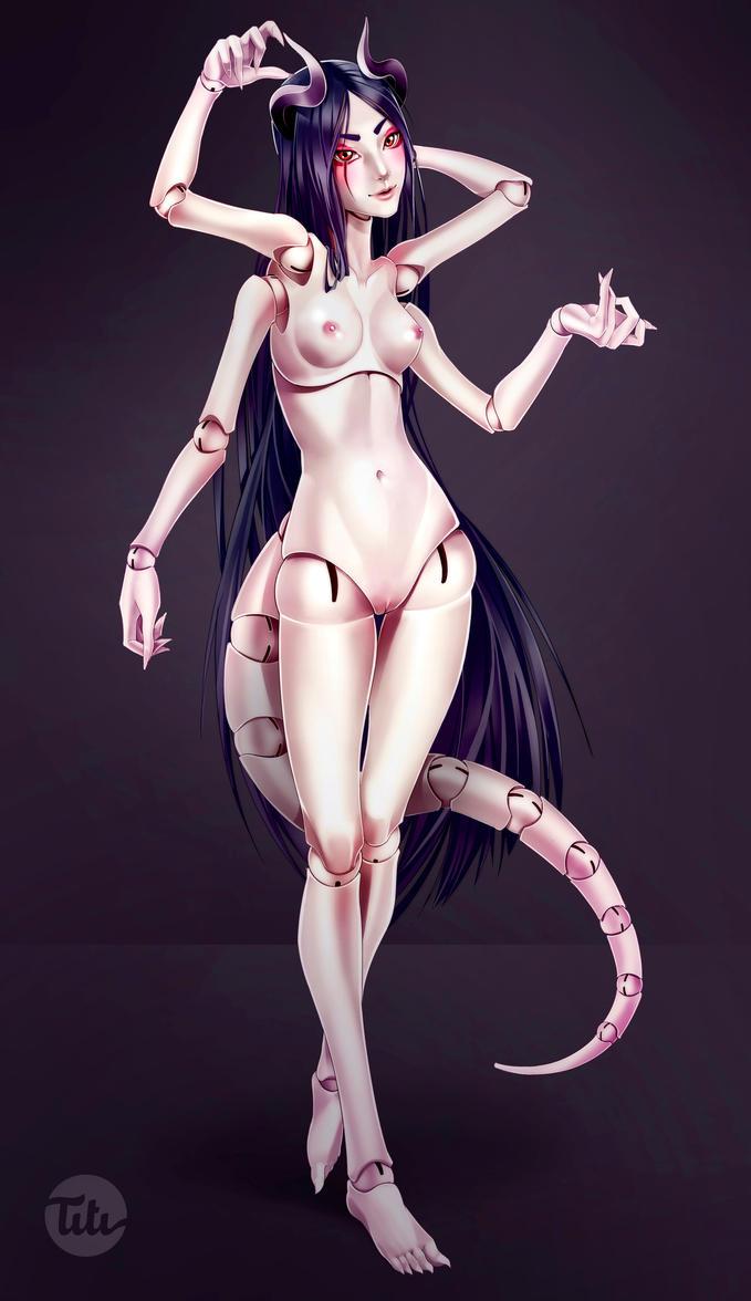 Demon Doll by titi-artwork