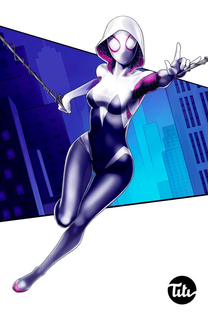 Spider Gwen by titi-artwork