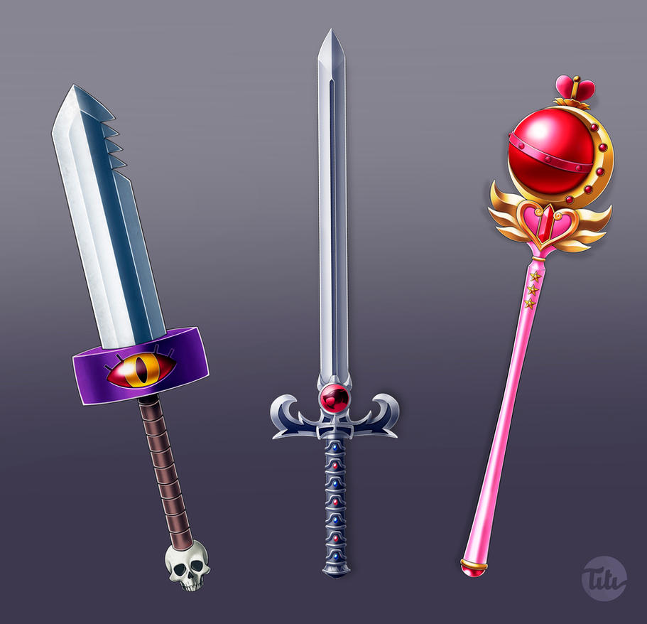 Famous weapons No. 1 by titi-artwork