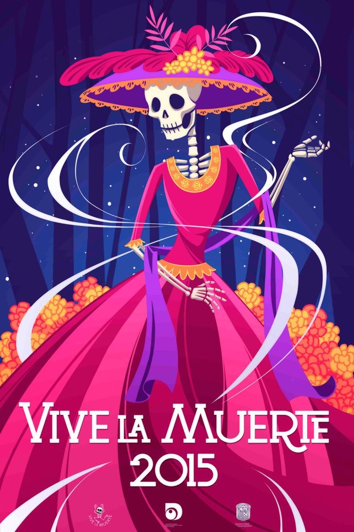 Vive la muerte 2015 by titi-artwork