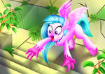 Silverstream is Excited of Stairs