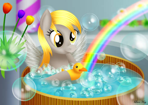 Derpy's Bubble Bath