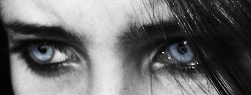 Eyes of A Fallen Angel Blue by WhisperingFingertips