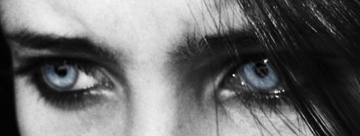 Eyes of A Fallen Angel Blue by WhisperingFingertips