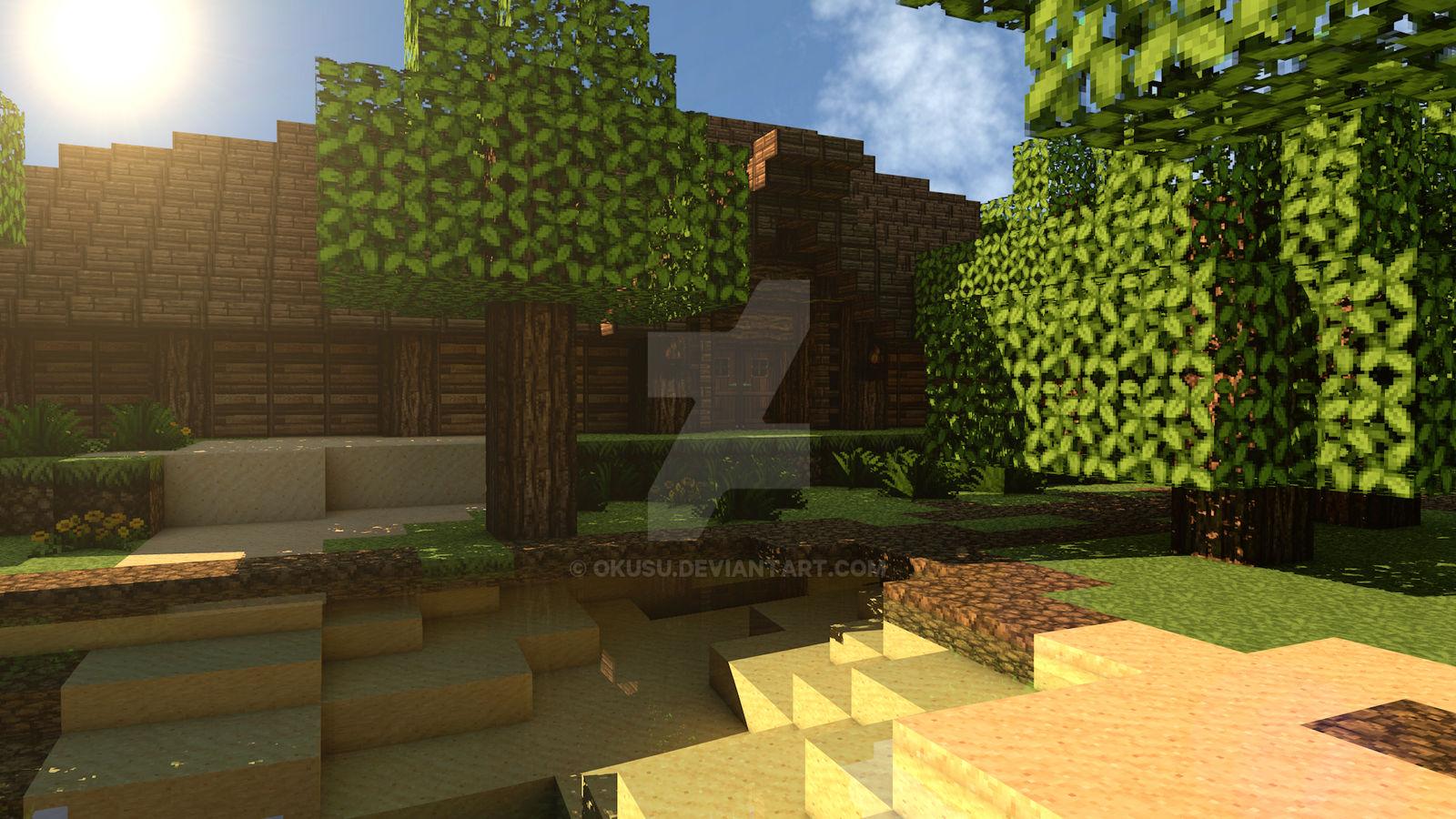 Minecraft Viking Longhouse By Okusu On Deviantart