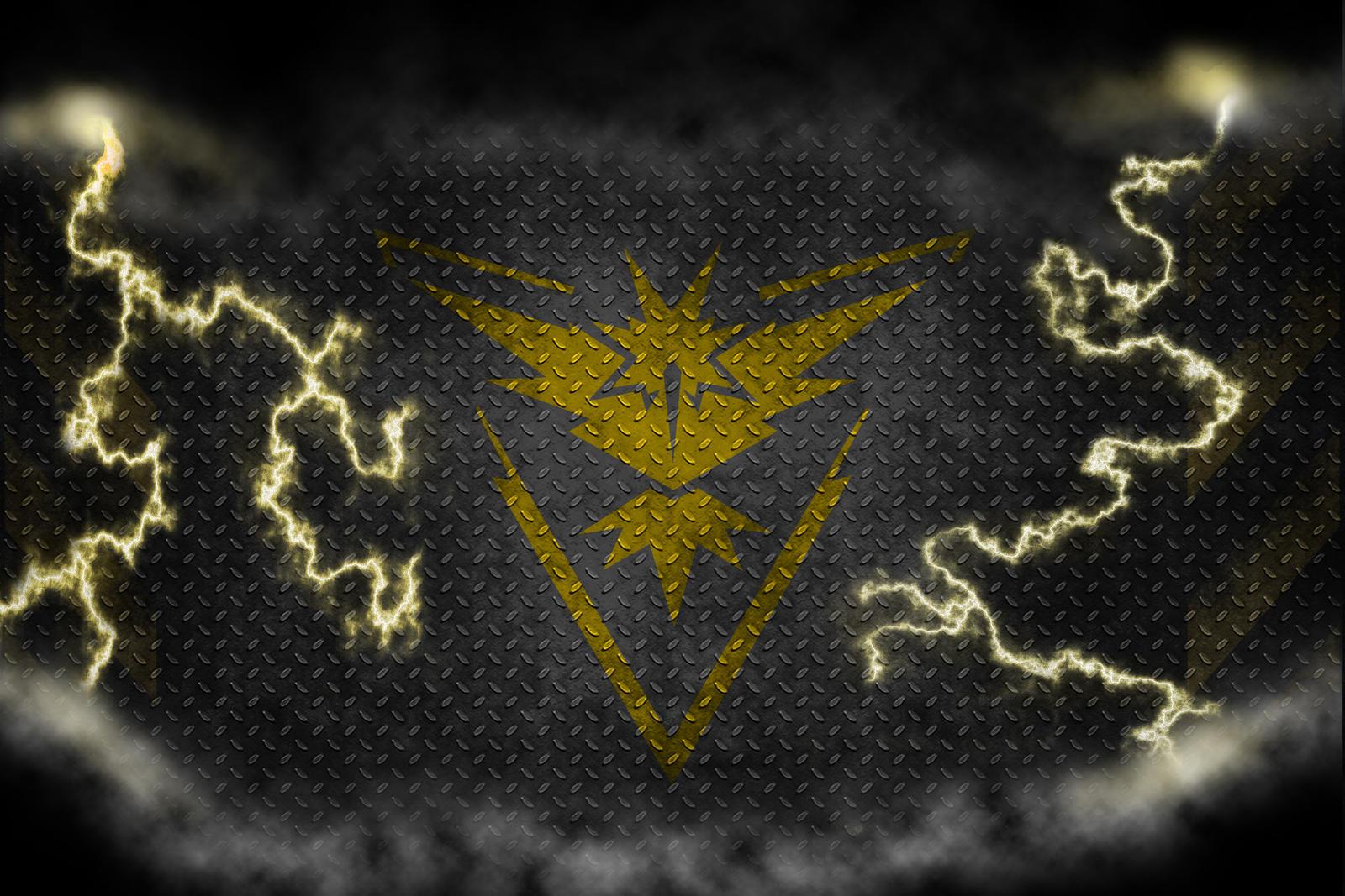 Team Instinct Wallpaper Pokemon Go: Team Instinct Wallpaper By Thejohan On DeviantArt