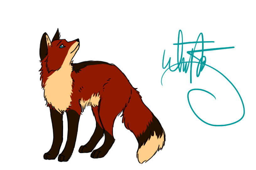 Fox drawing by joava on deviantart for Cool fox drawings