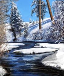 Snowy Speedpaint by Joava