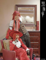 Kuroshitsuji: My Scarlet Lady by Maxieyi
