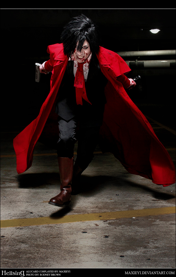 Hellsing Cosplay: Alucard: Come At Me by Maxieyi
