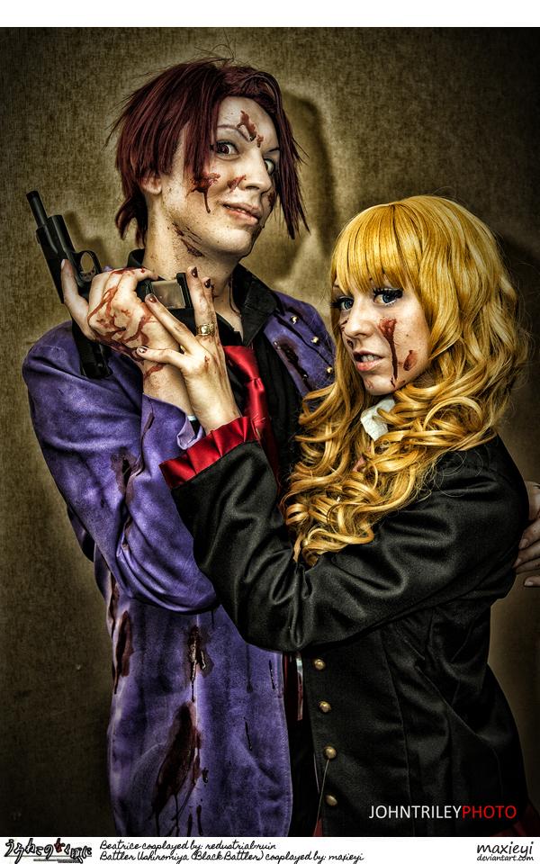 Umineko Cosplay:  Battler x Beatrice: Forgery XXX by Maxieyi