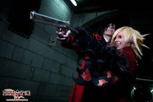 Hellsing Cosplay: Alucard and Seras Victoria: Bang