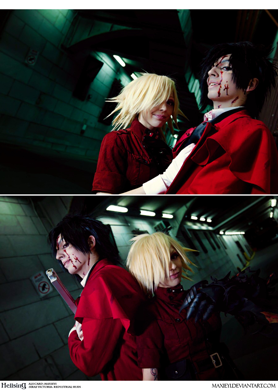 Image Gallery hellsing alucard and seras