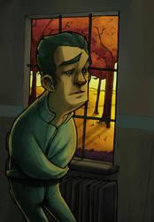 Asylum Series Character by Wheelchair