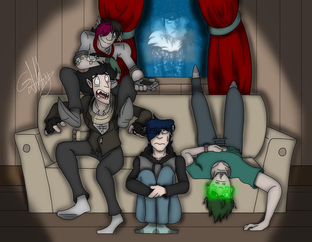 Movie Night! (Modern AU) by Zorthewolf32