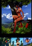 DBS vol4 Bonus Page - Concept Art 03