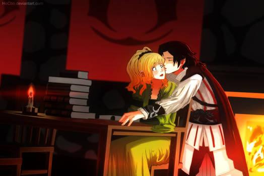 Commission - Ezio and Seona