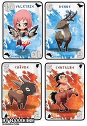 Shindra Cards by HoCBo by hoCbo