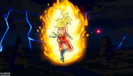 Dragon Ball S - Sun VS Freeza by hoCbo