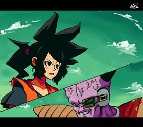 Dragon Ball S - Sun VS Ginyu by hoCbo