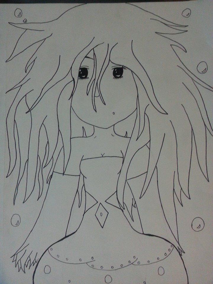 Jellyfish Girl by darkangelbb