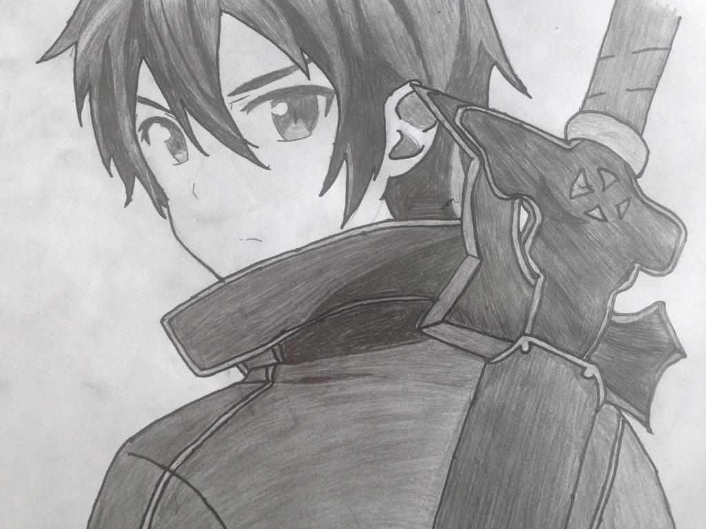 Kirito By Anime-Drawn On DeviantArt