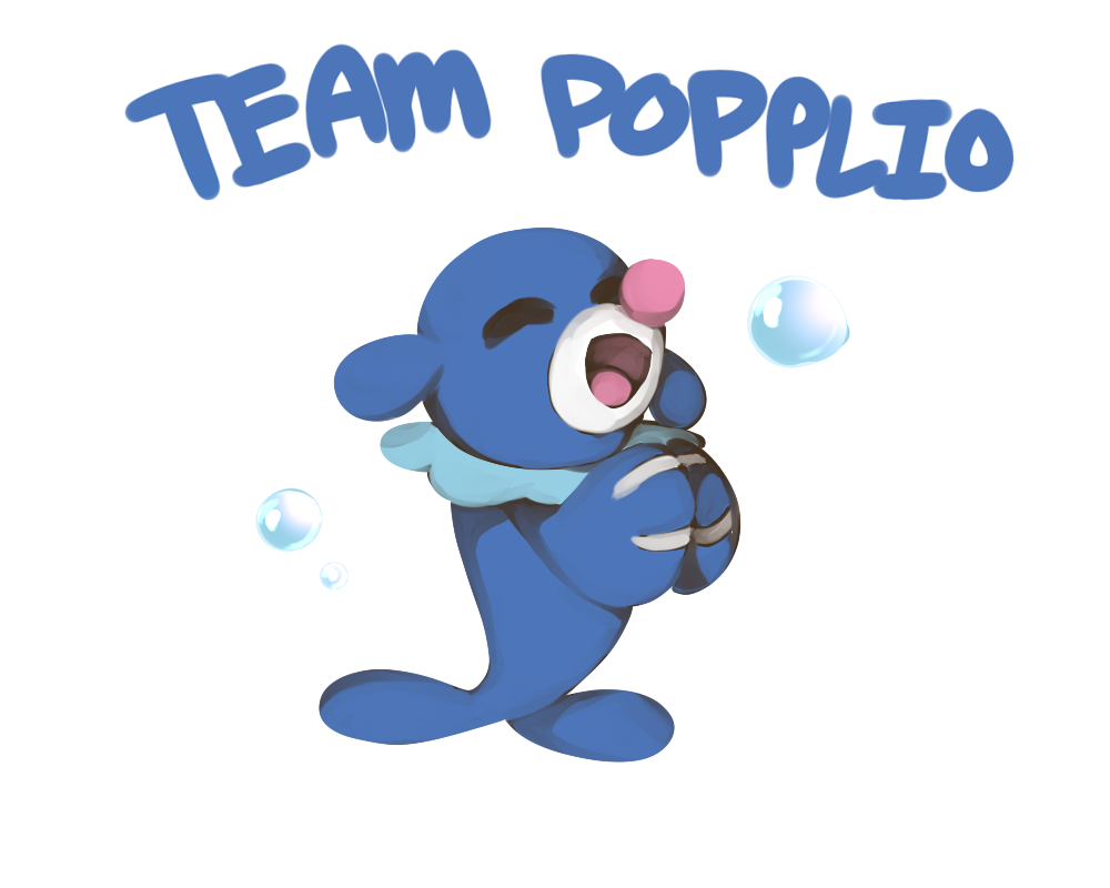 TEAM POPPLIO by cuttlewltch