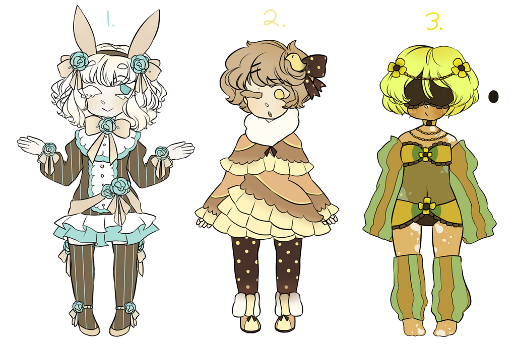 Adoptable AUCTION CLOSED by cuttlewltch